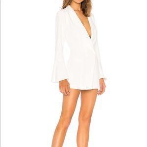NBD Como La Flor Suit Dress in Ivory